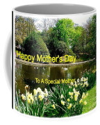Spring Mother's Day Greeting Coffee Mug