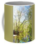 Spring On A Pennsylvania Stream, Fairmount Park, Philadelphia Coffee Mug