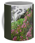Spring On Mount Rainier Coffee Mug