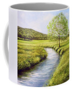 Spring On The Canal Coffee Mug