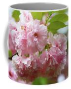 Spring Pink, Green And White Coffee Mug