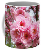 Spring Pink Tree Blossoms Art Prints Baslee Troutman Coffee Mug