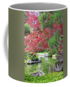 Spring Pond Reflection Coffee Mug