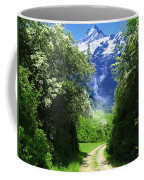 Spring Road To Mountains Coffee Mug