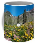 Spring Rocky Mountain Landscape Coffee Mug