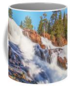 Spring Runoff At Glen Alpine Falls Coffee Mug