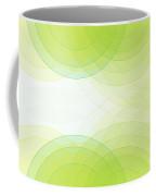 Spring Semi Circle Background Horizontal Coffee Mug