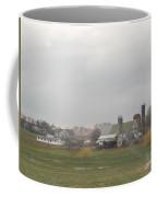 Spring Skies Over An Amish Farm Coffee Mug