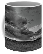 Spring Storm Front In Black And White Coffee Mug