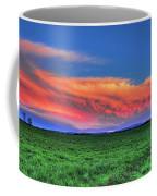 Spring Storm Over Wausau Coffee Mug