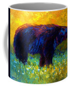 Spring Stroll - Black Bear Coffee Mug