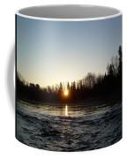 Spring Sunrise Over Mississippi River Coffee Mug