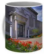 Spring Time At The Muskegon Museum Of Art Coffee Mug