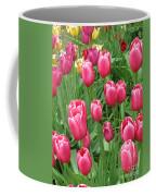 Spring Time Floral Tulips Galore Coffee Mug