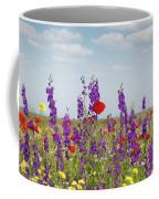Spring Wild Flowers Meadow Coffee Mug