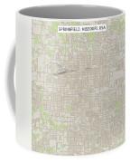 Springfield Missouri Us City Street Map Coffee Mug