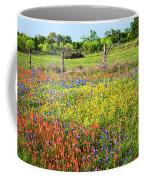 Spring's Floral Quilt Coffee Mug