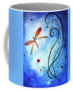 Springs Sweet Song Original Madart Painting Coffee Mug