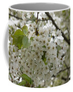 Springtime Abundance - Masses Of White Blossoms Coffee Mug