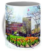 Springtime At Abingdon Square Park #2 Coffee Mug