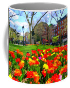 Springtime At Abingdon Square Park Coffee Mug