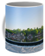 Springtime At Boathouse Row In Philadelphia Coffee Mug