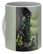Springtime At The Cabin Coffee Mug