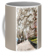 Springtime Boston Back Bay Coffee Mug