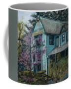 Springtime In Old Town Coffee Mug by Mary Benke