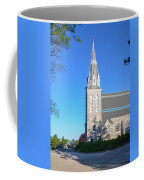 Springtime In Radnor - Villanova University Coffee Mug