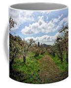Springtime In The Apple Grove Coffee Mug