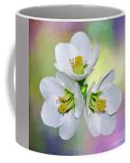 Springtime Triplets By Kaye Menner Coffee Mug