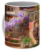 Springtime Wisteria In Old Bisbee Coffee Mug