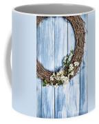 Springtime Wreath Coffee Mug