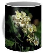 Sprinkles On Lantana Flower Coffee Mug