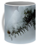 Spruce Needles And Ice Coffee Mug