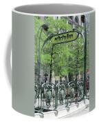 Square Victoria Metro Coffee Mug