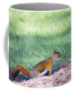 Squirrel In The Park Coffee Mug