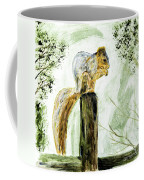 Squirrel Painting Coffee Mug