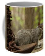 Squirrel With Anchor Coffee Mug