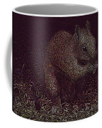 Squirrely Art Coffee Mug