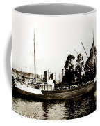 Steam Schooner Helene At San Padero Coffee Mug