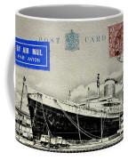 Ss United States - Post Card Coffee Mug