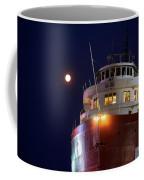 Ss William A Irvin At Night Coffee Mug