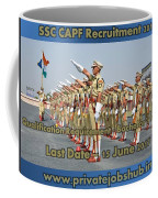 Ssc Capf Recruitment Coffee Mug