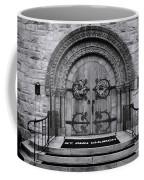 St Ann Church - Bw Coffee Mug