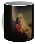 St Augustine And His Mother St Monica Coffee Mug