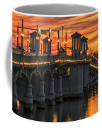 St Augustine Bridge Of Lions Sunset Dsc00565_16 Coffee Mug