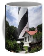 St. Augustine Light On The East Coast Of Florida Coffee Mug