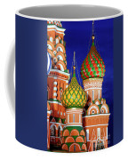 St Basils Cathedral In Moscow Russia Coffee Mug